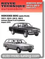 Revue technique Mercedes 220D (depuis 1976)