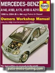 Revue technique Mercedes Classe A (1998-2004)