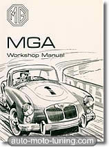 Revue technique MGA, 1500, 1600, 1600 Mk II (1955-1962)