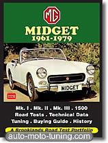 Documentation technique automobile MG Midget (1961-1979)
