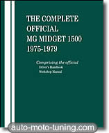 Revue technique MG Midget 1500 (1975-1979)