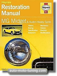 MG Midget - Manuel de restauration