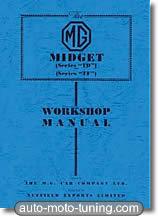 Revue technique MG Midget série TD et TF (1950-1955)