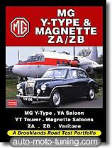 Documentation technique automobile MG Type Y et Magnette ZA / ZB (depuis 1947)