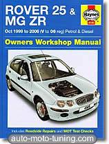 Revue technique MG ZR - essence et diesel (1999-2006)