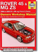 Revue technique MG ZS - essence et diesel (1999-2005)