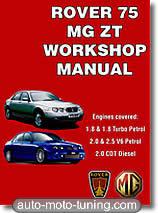 Revue technique MG ZT essence et diesel (1999-2005)