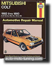 Revue technique Mitsubishi Colt (1982-1990)