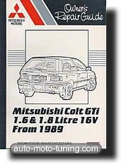 Revue technique Mitsubishi Colt GTi (1988-1991)