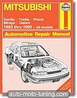 Revue technique Mitsubishi Galant (1983-1990)
