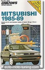 Revue technique Mitsubishi Galant (1985-1989)
