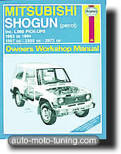Revue technique Mitsubishi L200 et Shogun (1983-1994)