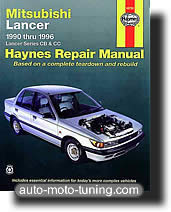 Revue technique Mitsubishi Lancer essence (1990-1996)
