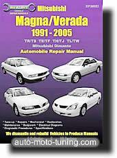 Revue technique Mitsubishi Magna et Verada (1991-2005)