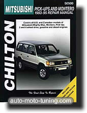 Revue technique Mitsubishi Montero (1983-1995)