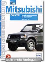 Revue technique Mitsubishi Pajero essence et diesel (1990-1999)