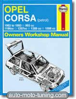 Revue technique Opel Corsa essence (1983-1993)