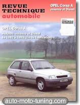 Revue technique Opel Corsa A essence et diesel (1983-1993)