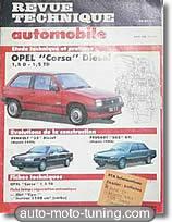 Revue technique Opel Corsa diesel (1987-1990)