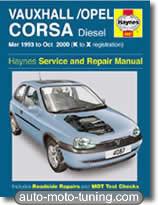 Revue technique Opel Corsa diesel (1993-2000)