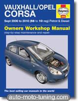 Revue technique Opel Corsa essence et diesel (2006-2010)