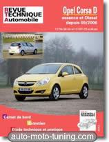 Revue technique Opel Corsa D essence et diesel (depuis 2006)