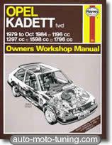 Revue technique Opel Kadett (1979-1984)