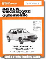 Revue technique Opel Kadett essence (1980-1984)