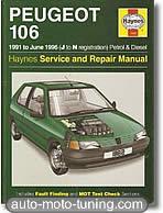Revue Peugeot 106 (1991-1996)