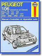 Revue technique Peugeot 106 (jusqu'à 1995)