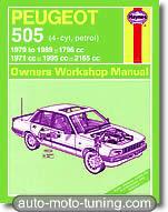 Revue technique Peugeot 505 (1979-1989)