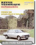 Revue technique Peugeot 505 diesel