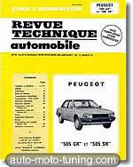 Revue Peugeot 505 essence
