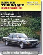 Revue technique Peugeot 505 (fin de fabrication)