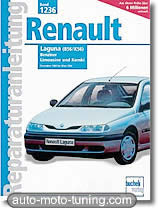 Revue technique Renault Laguna essence (1993-1998)