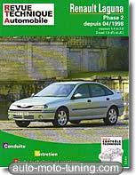 Revue technique Renault Laguna essence et diesel (depuis 1998)
