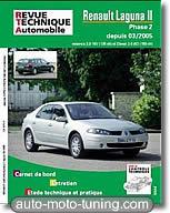 Revue technique Renault Laguna 2 essence et diesel (depuis 2005)
