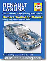 Revue technique Renault Laguna essence et diesel (2001-2007)