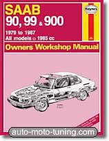 Revue technique Saab 90, 99 et 900 (1979-1987)