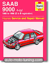 Revue technique Saab 9000 (1985-1998)