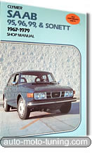 Revue technique Saab 95, 96, 99 et Sonett