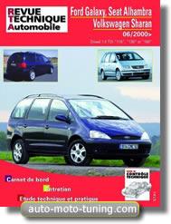 Revue technique Seat Alhambra II diesel (depuis 2000)
