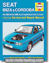 Revue technique Seat Cordoba essence et diesel (1993-1999)
