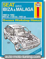 Revue technique Seat Ibiza essence (1985-1992)