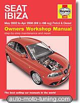 Revue technique Seat Ibiza essence et diesel (2002-2008)