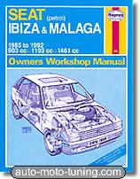 Revue technique Seat Malaga essence (1985-1992)