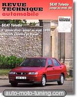 Revue technique Seat Toledo essence et diesel (jusqu'à 1998)