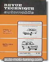 Revue technique Simca Rancho (1978-1984)