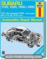Revue technique Subaru 1100 à 1600