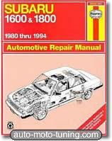 Revue technique Subaru 1600, 1800